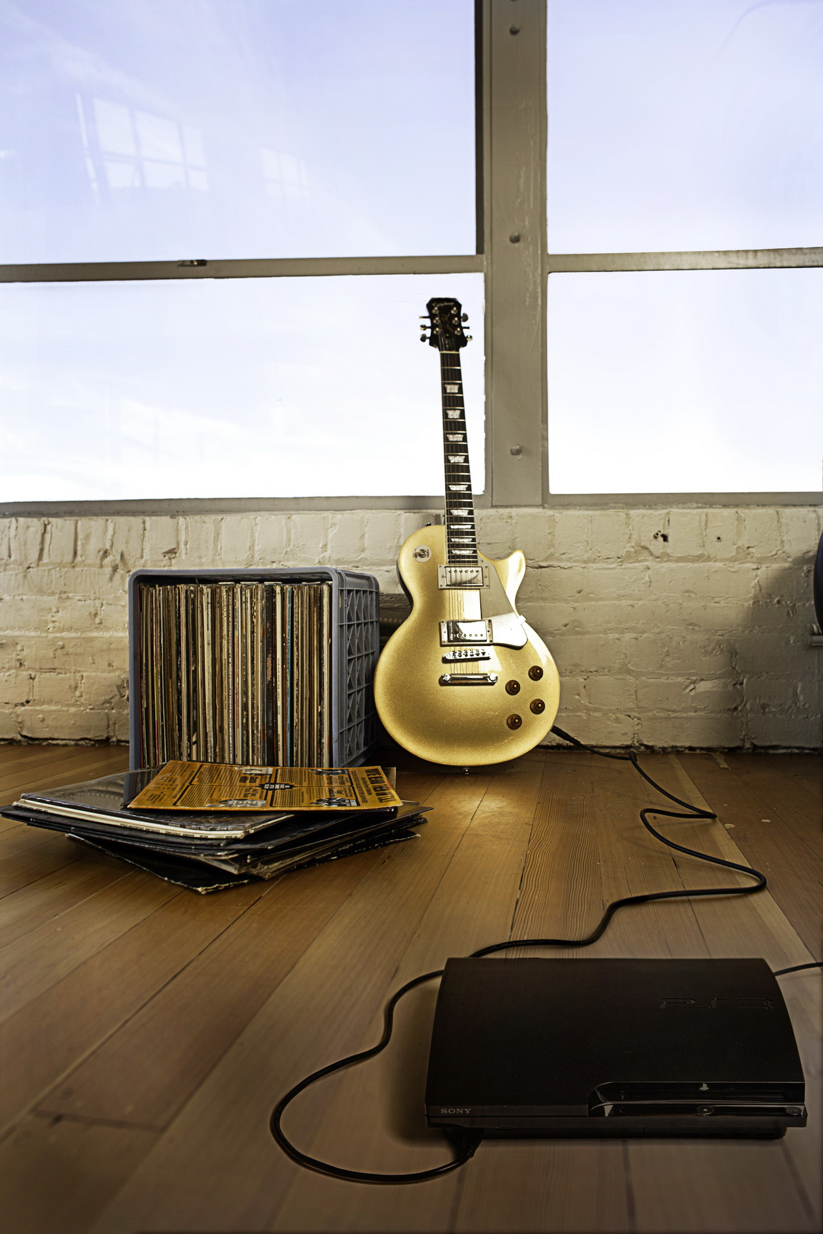 Gitarre an Konsole - das funktioniert. (Foto: Ubisoft)