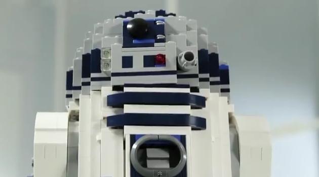 Der R2-D2 aus LEGO-Steinen. (Foto: LEGO)