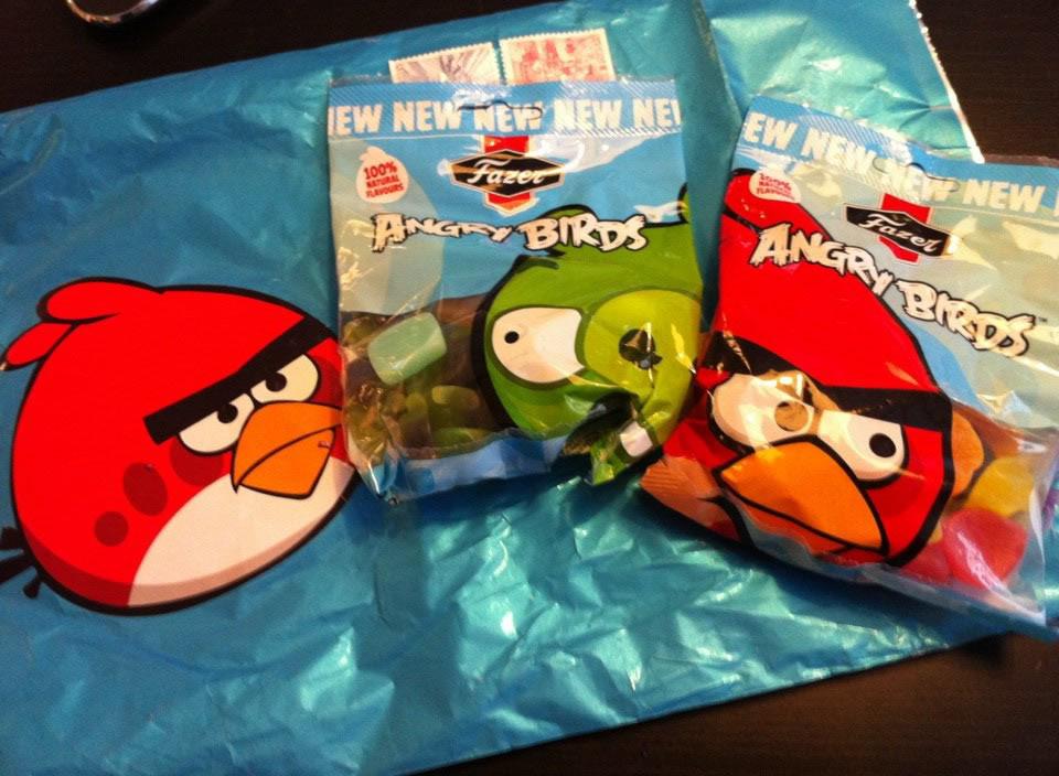 Die offizielle Angry Birds-Süßigkeit. (Foto: newlaunches.com)
