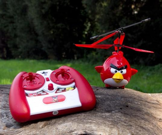 Der Angry Birds-Helikopter. (Foto: iHelicopters.net)