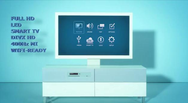 So sieht der Fernseher aus. (Foto: IKEA)