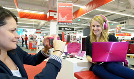 Media Markt will Frauen anlocken. (Foto: Media Markt)