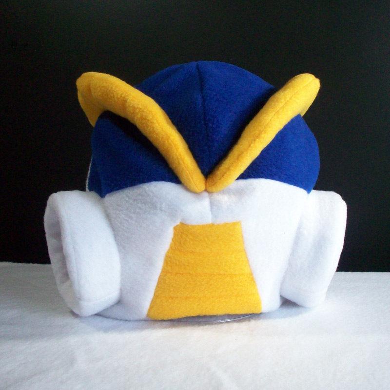 Der Mega Man X-Helm aus Vliess. (Foto: Etsy.com)