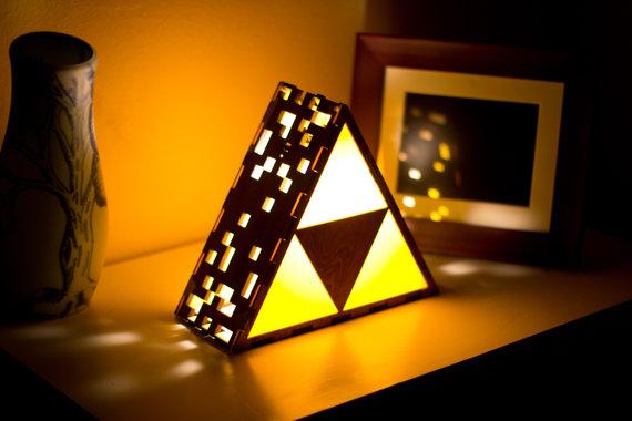 Die Triforce-Lampe (Foto: Etsy.com)