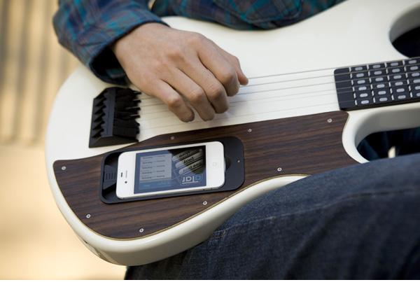 gTar: Fast wie eine echte Gitarre. (Foto: Kickstarter)