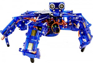 Hexy the Hexapod. (Foto: Kickstarter)