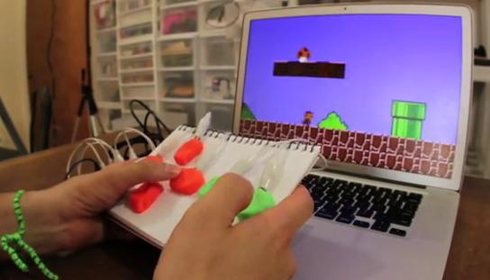 Spielen mit eigenen Controllern. Basis ist Arduino (Foto: Kickstarter.com)