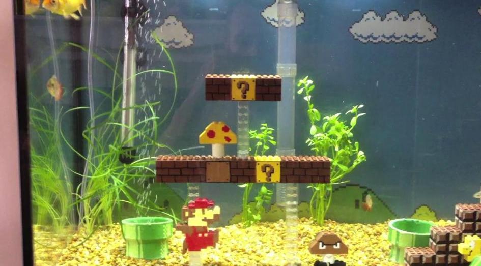 Mario im Aquarium? (Foto: Vimeo.com)