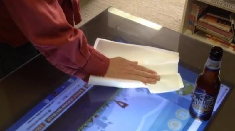 Playsurface Gnstiger Touchscreen Tisch Frs Wohnzimmer