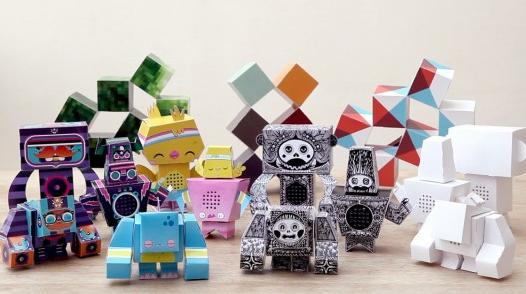 So sehen die Roboter aus. (Foto: Kickstarter.com)