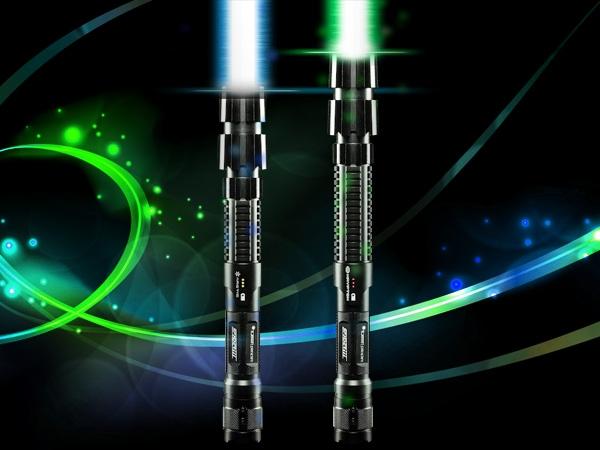 Schönes Lichtschwert. (Foto: Wicked Lases)