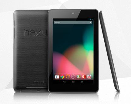 Das Nexus 7 von Google. (Foto: Google)