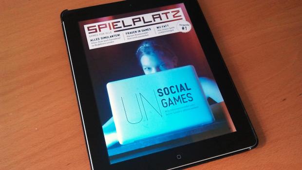 Das Cover der Zeitschrift. (Foto: Spielplatz-Magazin.de)