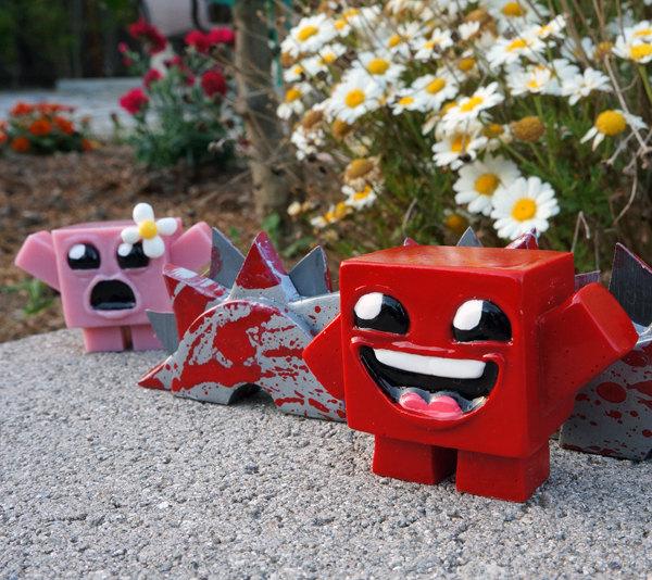 Lustige Super Meat Boy-Figuren und mehr. (Foto: Etsy)