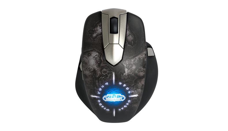 Die neue WoW-Maus ist schnurlos. (Foto: SteelSeries)