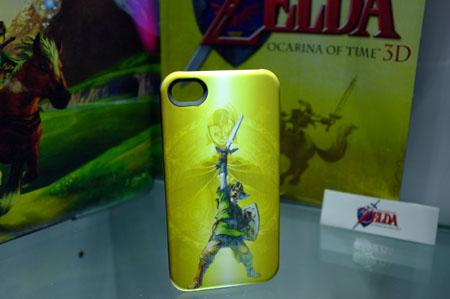Das Zelda-Case hat ebenfalls etwas. (Foto: Pocketgamer.co.uk)