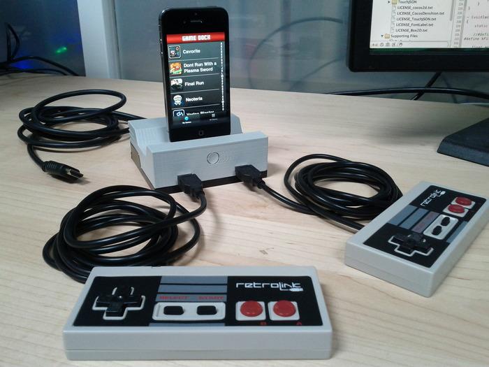 So sieht das GameDock aus. (Foto: Kickstarter.com)