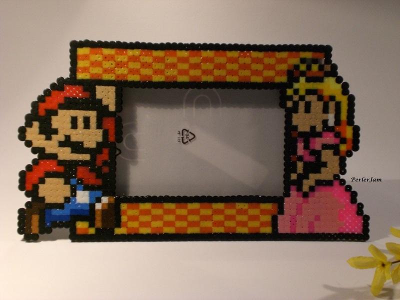 Mario Luigi Peach Bilderrahmen