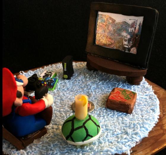 Das treibt Mario also, wenn er mal keine Prinzessin retten muss. (Foto: Etsy)