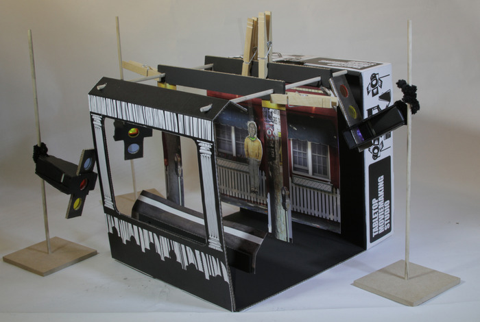 Ein Mikro-Filmstudio zum schmalen Preis. (Foto: Kickstarter.com)