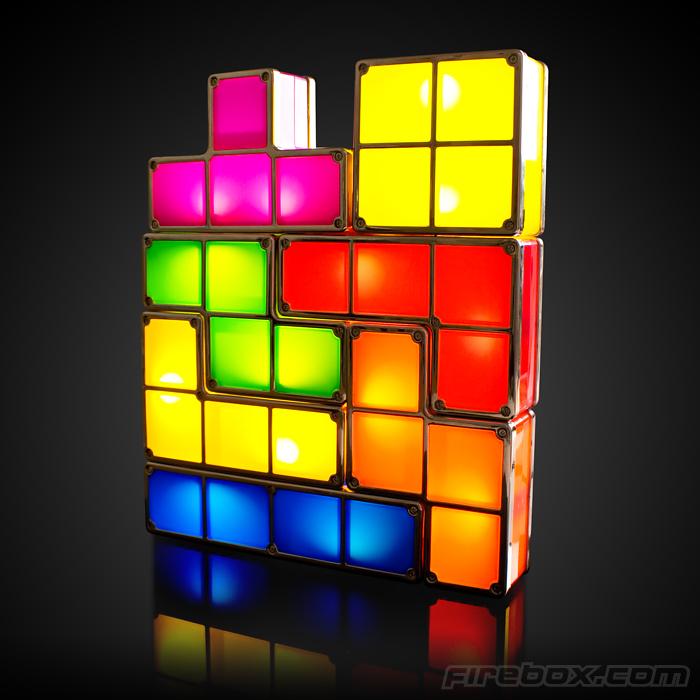 Schöne Tetris-Lampe. (Foto: Firebox.com)