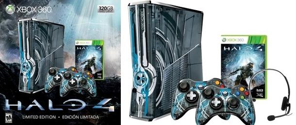 Die Xbox 360 im Halo 4-Look. (Foto: Microsoft)