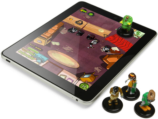 Das Zombie-Brettspiel fürs iPad. (Foto: ThinkGeek)