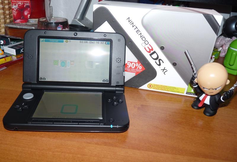 Der 3DS XL. (Foto: Sven Wernicke)