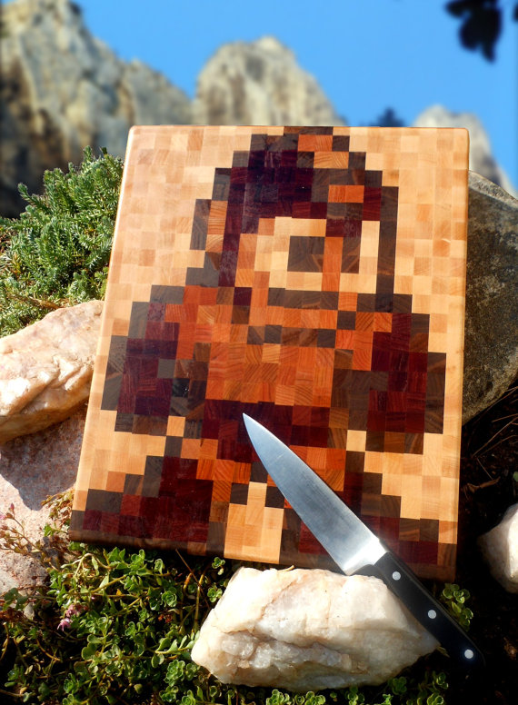 Das Mega Man-Schneidebrettchen. (Foto: Etsy)