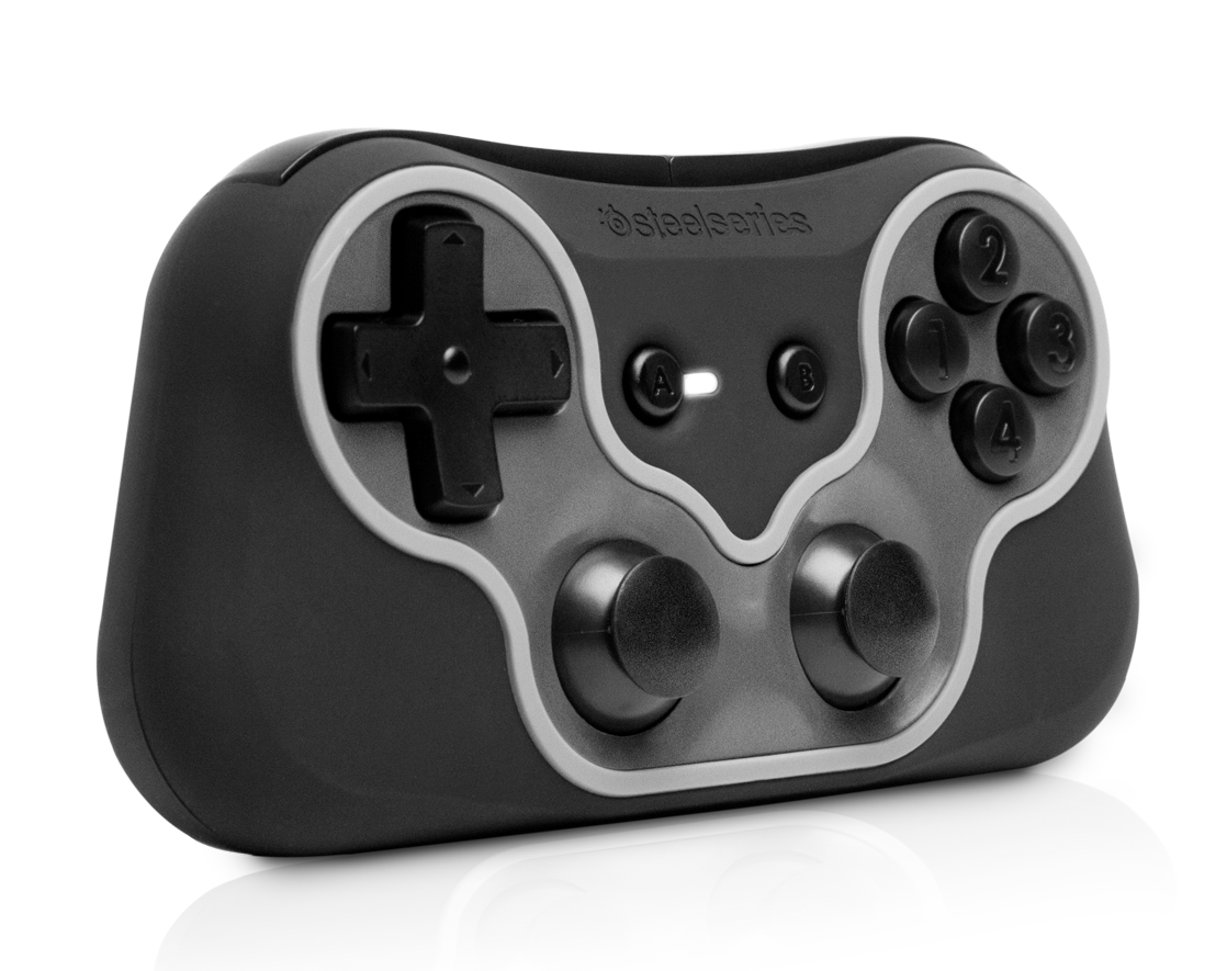Der winzige Free Mobile Gaming Controller. (Foto: SteelSeries)