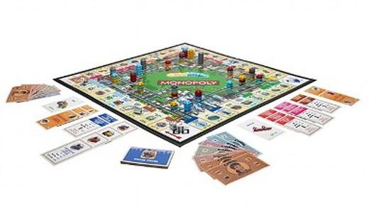 So wird diese Monopoly-Variante aussehen. (Foto: Hasbro / Joystiq)