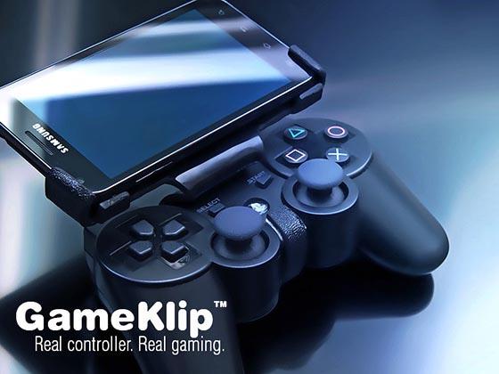 GameKlip ist quasi eine kleine Halterung. (Foto: gameklip.com)
