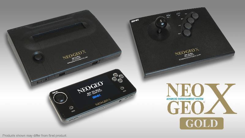 NeoGeo X: Handheld-Konsole und Heimkonsole in einem Paket. (Foto: Blaze)