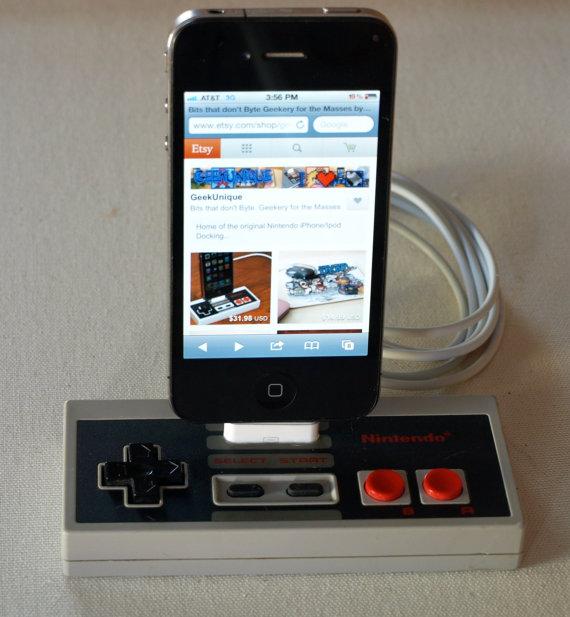 NES-Controller als Dockingstation. (Foto: Etsy)