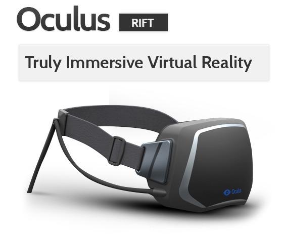 Das finale Design von Oculus Rift (Foto: Kickstarter)
