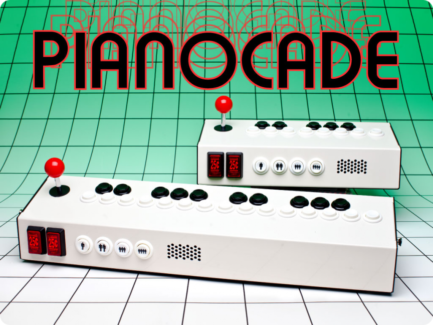 Pianocade - so sieht der Retro-Synthesizer aus. (Foto: Pianocade.com)