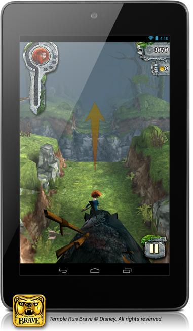 Spiele mit dem Nexus 7. (Foto: Google)