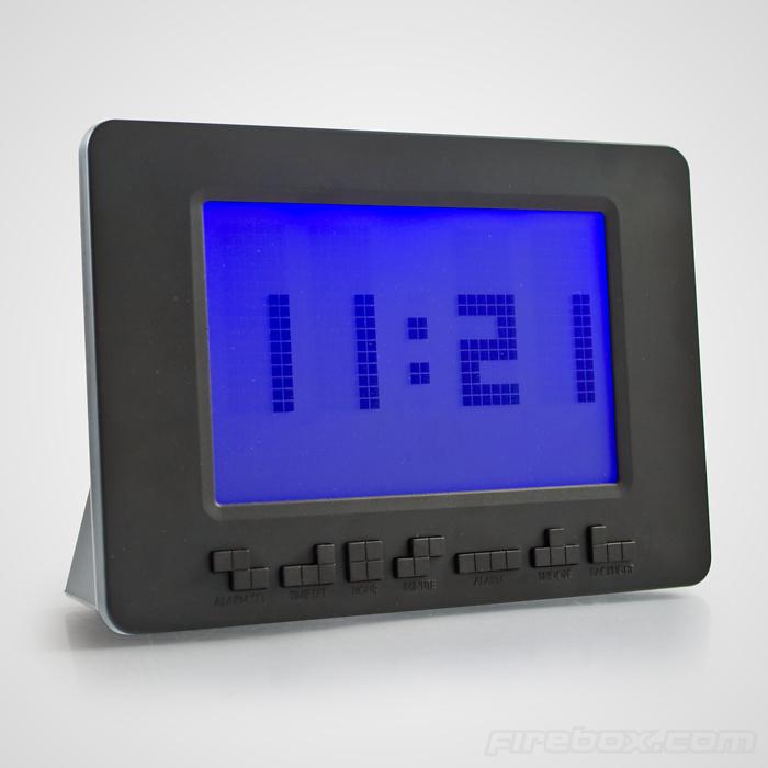 Alarm! Mit dem Tetris-Wecker! (Foto: Firebox)
