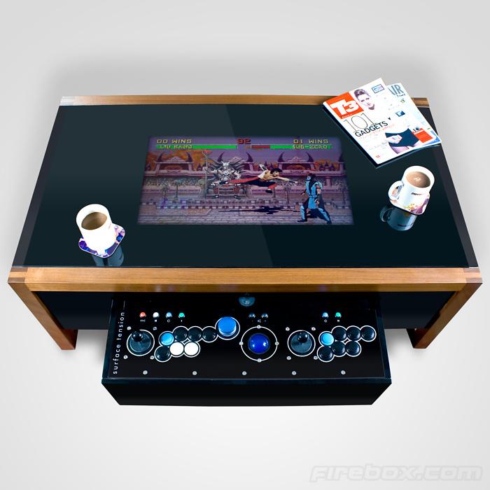 Arcane Arcade Table Wohnzimmertisch Fr Retro Freunde