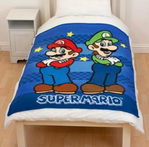 Die günstigere Decke - nur mit Mario und Luigi. (Foto: 3DSupply)