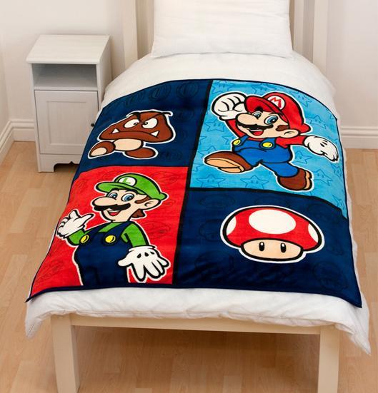 Mario Charaktere als Fleece-Decke. (Foto: 3DSupply)