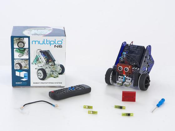 multiplo roboter bausatz f r gro e kinder. Black Bedroom Furniture Sets. Home Design Ideas