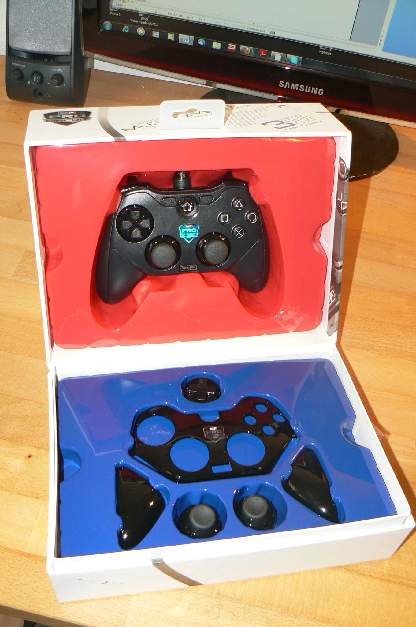In der Packung steht mehr als nur der Controller. (Foto: GamingGadgets.de)