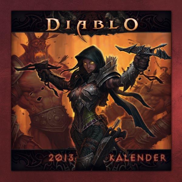 Diablo als Kalender. (Foto: Elbenwald)