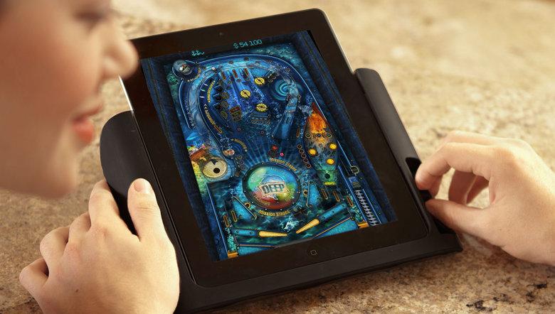 Das iPad wird zum Flipper. (Foto: Duo Games)