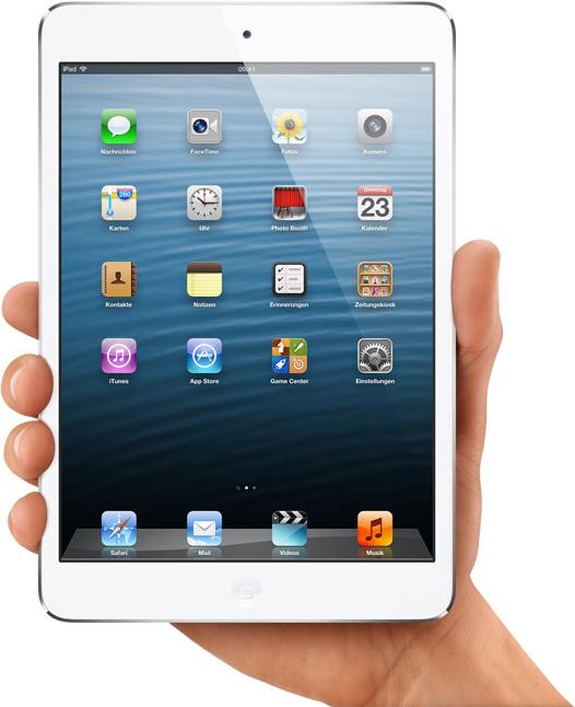 Das ist also das iPad mini. (Foto: Apple)