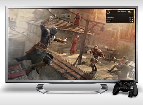 LG G2-Fernseher treffen auf Onlive. (Foto: onlive.com)