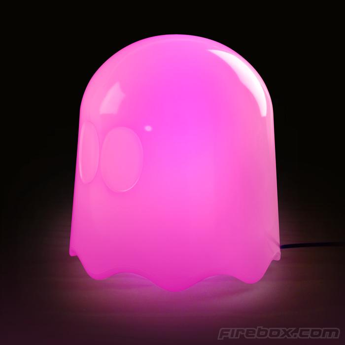 Herrlich. Der Pac-Man-Geist als Lampe. (Foto: Firebox)