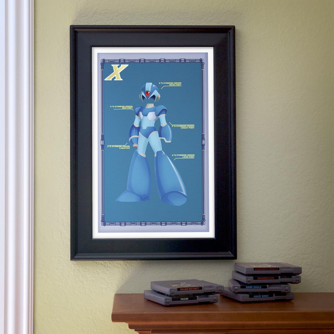 Mega MAn Zero als Poster. (Foto: it8bit)