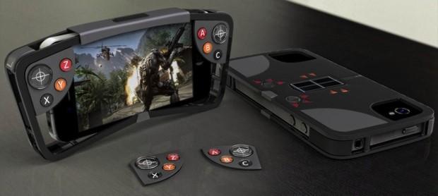 Sieht schon interessant aus - der Controller für iPhone und eventuell später Android-Smartphones. (Foto: Kickstarter)